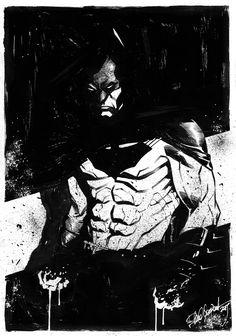 StuffNThings - Batman sketch by elena-casagrande