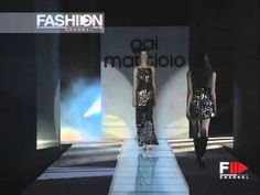"""Gai Mattiolo"" Autumn Winter 1999 2000 Rome 5 of 5 Haute Couture woman b..."