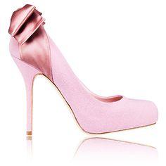 Dior ribbon pumps - crepe and satin $800 at Dior boutiques nationwide