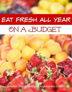 Eat Fresh on a Budget