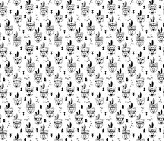 Cool geometric scandinavian style indian summer animals bear black and white fabric surface design by Little Smilemakers on Spoonflower - custom fabric and wallpaper inspiration Indian Animals, Black And White Fabric, Inspirational Wallpapers, Indian Summer, Scandinavian Style, Designer Wallpaper, Surface Design, Custom Fabric, Spoonflower