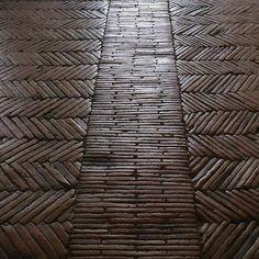 Parquet floor - amazing pattern