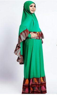 gambar busana muslim formal elegan terbaru 2017