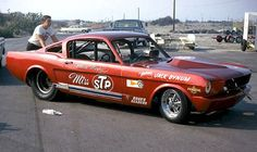 Miss STP Ford Mustang Funny Car AA/FC. This gives me some model car ideas. :-)