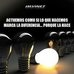 Si haces la diferencia #marketing #motivación #buendía #sisepuede #imvinet