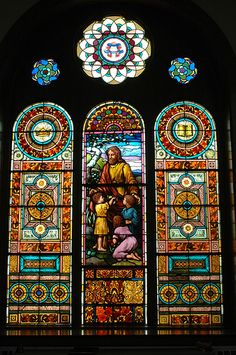 Stained Glass Church Window by Paula Stephens, via Flickr