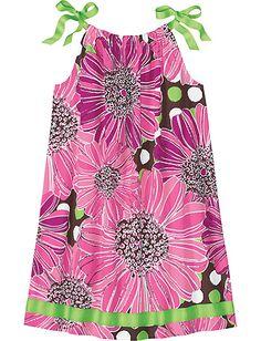 Pillowcase Dress from #HannaAndersson... rehearsal dinner dress for the girls