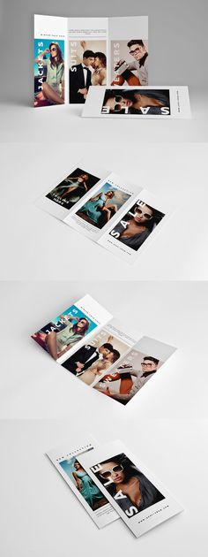 Fashion Trifold Brochure by Kahuna_Design on Envato Elements Brochure Design, Brochure Template, Visual Diary, Editorial Layout, Media Design, Brochures, Visual Identity, Infographic, Branding