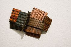 Yung-Huei Chao - Brooches (2013). Copper, nickel silver, paint. Photo by Eleni Roumpou