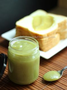 The Informal Chef: Smooth Creamy Pandan Kaya (Pandan Flavoured Coconut Egg Jam) 香兰咖椰