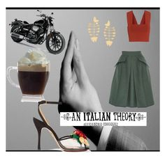 An Italian Theory by rekkaa on Polyvore featuring polyvore, fashion, style, A.L.C., Dice Kayek, Charlotte Olympia, Tory Burch, 10x10 An Italian Theory and clothing
