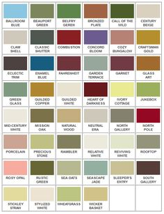 American Craftsman inspired paint colors for Arts and Crafts style bungalows
