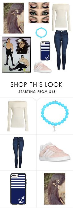 """""""My life!!!!"""" by ejacox ❤ liked on Polyvore featuring The Row, Sydney Evan, Topshop, adidas and Casetify"""
