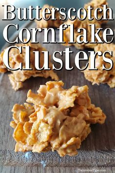 Cookie Recipes, Sweets Recipes, Baking Recipes, Candy Recipes, Best No Bake Cookies, Christmas Cookies, Cornflake Cookies Recipe, Butterscotch Chips, Cereal Treats