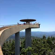 Clingmans Dome - the highest point on the Appalachian Trail