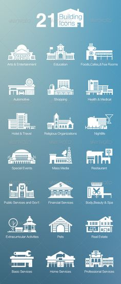 21 Building Icons http://graphicriver.net/item/21-building-icons/6751198?WT.ac=solid_search_item&WT.seg_1=solid_search_item&WT.z_author=timtung