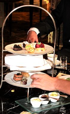 #Four #Seasons #Cairo afternoon tea and pastries by chef salah take your pick!