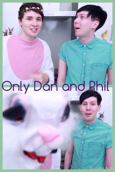 Only Dan and Phil! If you repin, give credit to @mellodscott