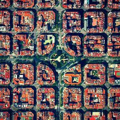 Plaça de Tetuan is a major square located in the Eixample district of Barcelona, Spain. The area characterized by its strict grid pattern, octagonal intersections, and apartments with communal courtyards.