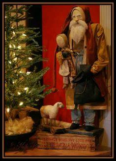 Olde Weeping Cedar. http://www.pinterest.com/barbmcmillian/primitivecolonial-christmas/