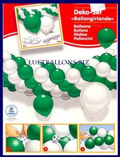 Diy Luftballongirlande