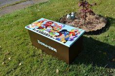 Muppets Toy Box, Personalized Toy Box