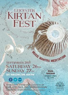 Dandavats | Kirtan Fest 2015 – 24 hours of kirtan in the City of Leicester