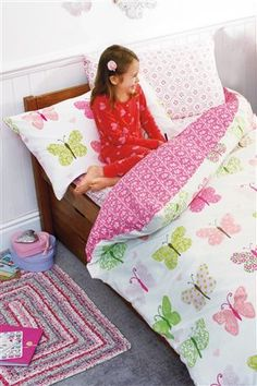Hearts and Butterflies Bed Set