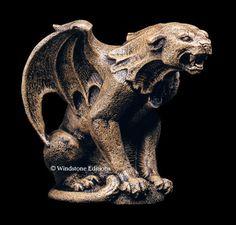 Small Panther Gargoyle [WE25] - $44.00 : Gargoyles Statuary ...