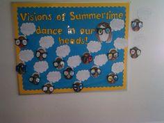 summer bulletin board