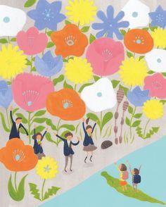中学受験はじめてBOOK | naoya | イラストレーションファイルWeb | illustration File Web