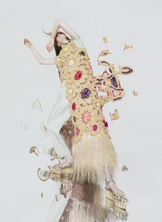 Photographer and mixed media artist Ernesto Artillo is best known for reconstructing fashion photography into surreal and abstract images by way of collages and digital manipulation. His beautifully bizarre work is the result of several fashion collaborations, including one with fellow Spaniard