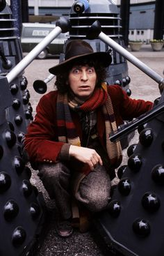 Tom Baker as The Doctor, played the role for a very long time (9 years, I think)