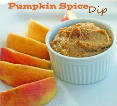 From Super Healthy Kids http://www.superhealthykids.com/recipes-blog/pumpkin-spice-dip.php#