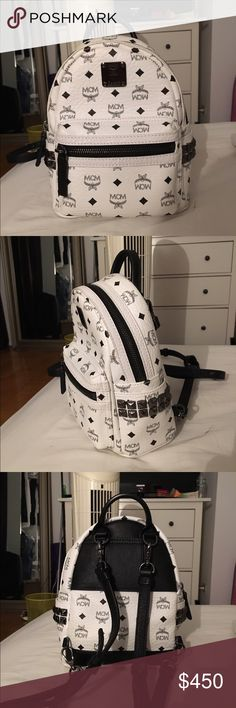 MCM Bebe boo x mini backpack / crossbody only used 4x. great condition. it can be worn as a backpack or crossbody. I usually like to wear it as a crossbody. it fits a lot more than it looks. authentication card available. MCM Bags Backpacks