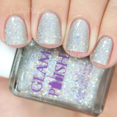 Glam Polish Bewitched   Halloween 2014 Cast A Spell Collection Part II   Peachy Polish #silver