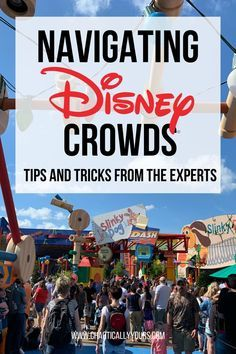 Manage a crowded day at Disney World like a pro with these awesome strategies! Disney World Honeymoon, Disney Vacation Club, Disney World Parks, Disney World Planning, Walt Disney World Vacations, Disney Travel, Vacation Ideas, Disney Secrets, Disney World Tips And Tricks