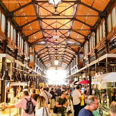 Eat your way through Mercado de San Miguel (21 Remarkable Things to Do in Madrid Spain).