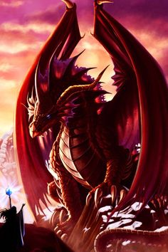 Red Dragon-Born in the year of the Dragon