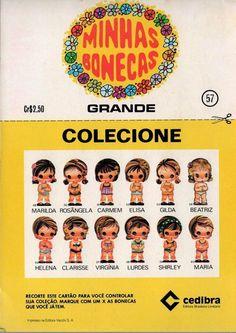 Bonecas de Papel - Nostalgiarama