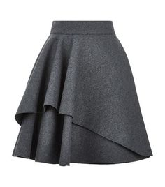 Alexander McQueen Double Layer Flare Skirt available to buy at Harrods. Shop designer skirts online and earn Rewards points.