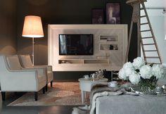 Marchetti mobilificio d'arte s.p.a. - Boiserie modular bookcases