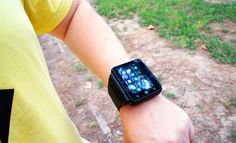 Here's what it's like to use a watch as a phone