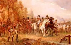 Napoleon with his troops at Borodino, by Hillingford