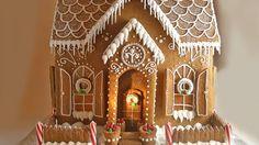 Jolie maison en pain d'épices pavillon classique