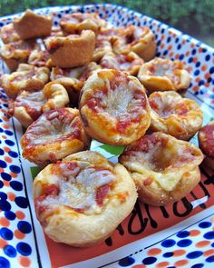Pizza Dip Bites. Easy, fun & delicious! #SuperBowl #party #appetizers