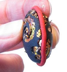 Chinese Brocade beads @ Jewelry and Polymer Clay tutorial Heaven