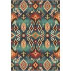Eastern Tradition Multi Southwestern 7 ft. 10 in. x 10 ft. 10 in. Indoor Area Rug