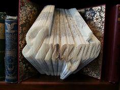 Imagine folded book