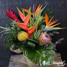 Floral Arrangements, Bouquets, Centerpieces, Tropical, Simple, Flowers, Plants, Diy, Inspiration